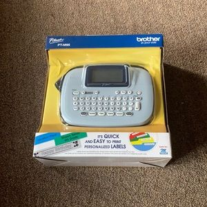 NWT Brother P-Touch PT-M95 Label Maker